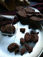 グルテンフリー♪米粉でサクっほろっとしっとりココアクッキー