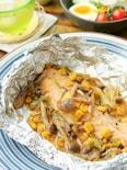 ~包丁いらずで超簡単~秋鮭の味噌バターホイル焼き