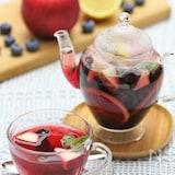 ブルーベリーとりんごのフルーツティー