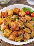 【とろとろ茄子が最高】鶏もも肉と厚揚げのオイスター生姜焼き