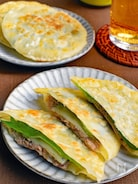 【簡単絶品*サバ缶活用レシピ】サバしそチーズ餃子