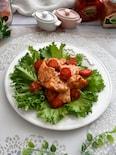 鶏むね肉のスイチリマヨネーズ和え