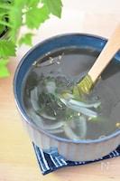 中華風わかめスープ
