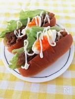 お手軽ランチ☆豚こま照り焼きマヨロール