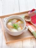 低糖質でヘルシー!白滝入り鶏団子の白菜スープ