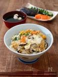 野菜たっぷり衣笠丼