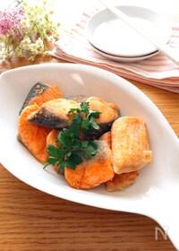 『めちゃめちゃ簡単でいい味♡生鮭のガーリック中華焼き』