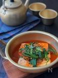 ポカポカあたたまります♡*豆腐のキムチ煮*