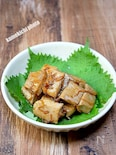 マグロの生姜焼き