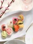 お祝いに、おもてなしに♪華やか手まり寿司