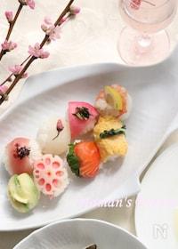 『お祝いに、おもてなしに♪華やか手まり寿司』