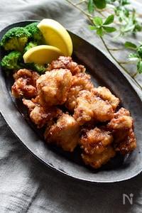 驚くほどしっとり柔らか♡鶏むね肉の唐揚げ【下味冷凍OK】
