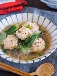重ねて10分♪旨味たっぷり♪『鶏団子と白菜の重ねスープ煮』