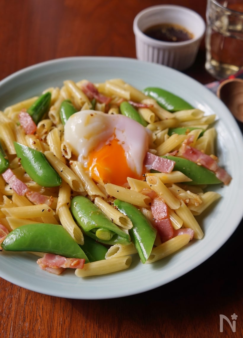 簡単ひと品!スナップえんどう × 卵の人気レシピ15選の画像