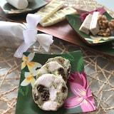 『抹茶のチョコレートサラミ』