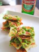 【簡単おつまみ】枝豆と桜えびのチーズガレット