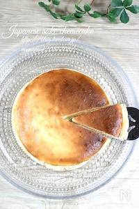 日本酒・酒粕チーズケーキ。