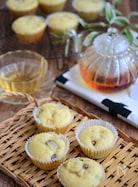 さつま芋とバナナのカップケーキ