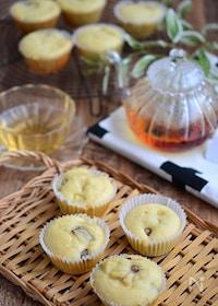 『さつま芋とバナナのカップケーキ』