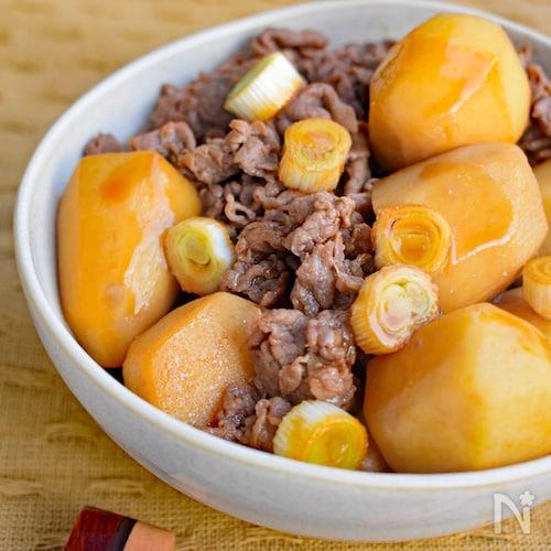 里芋と牛肉の中華風オイスター煮込み