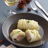 ロール白菜のコンソメ煮込み。味しみしみの洋風おかず!