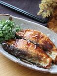 ご飯が進むスピードおかず♡生秋鮭の黒酢蜂蜜にんにく照り焼き
