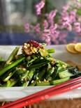 小松菜のニンニク炒め