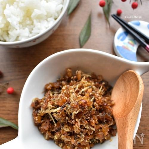 我が家の定番♡ご飯と相性抜群♡激うま♡セロリと生姜の佃煮♡