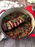 イタリアのお正月料理の定番!レンズ豆と豚バラ肉