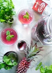 『夏に作りたい☆ポリフェノールたっぷり【赤紫蘇ジュース】』