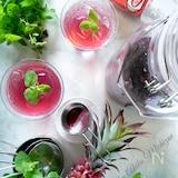 夏に作りたい☆ポリフェノールたっぷり【赤紫蘇ジュース】