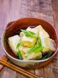 そう麺つゆで作るお手軽「揚げ出し豆腐」