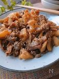 ボリューム煮物☆れんこんと豚肉の甘辛煮
