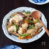 和食のおいしさ再認識♡しいたけの炒り豆腐