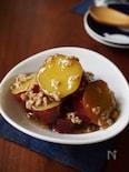サツマイモのそぼろ煮