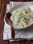 鶏胸肉と白菜の豆乳クリーム煮込み。