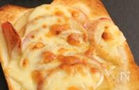 林檎トースト はちみつチーズ