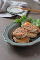 お豆腐でフワフワ食感♪鶏つくね