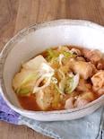 レンジで簡単!さっぱり鶏肉豆腐