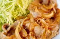 我が家は定食屋さん【生姜タレがおいしい!生姜焼き】とりこ飯