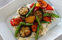干し揚げ野菜のちらし寿司