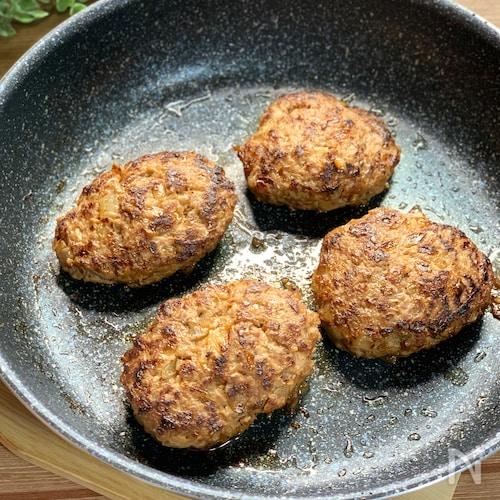 パン粉 を 使わ ない ハンバーグ