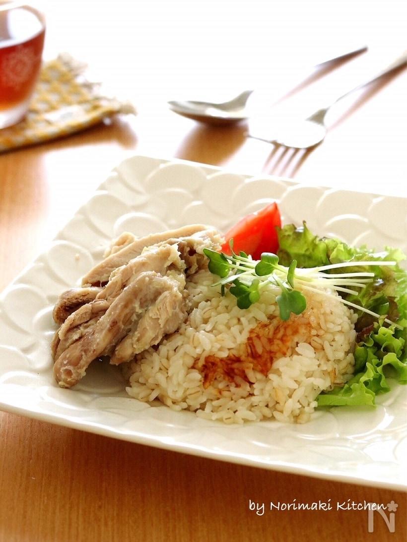 炊飯器で簡単シンガポールチキンライス