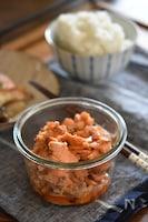 鮭の味噌マヨフレーク【作り置き】