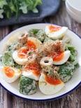 和風が美味しい♡ピーマンとちくわの卵サラダ