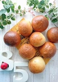 『ふわツヤ♪丸パン』