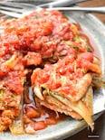 水不要♡つゆまで飲み干せる♡トマト風味な白菜と豚肉の重ね煮♡