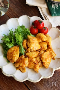 鶏むね肉のカレー照焼き