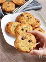 ホケミで!カフェ風アメリカンなチョコチップクッキー☆