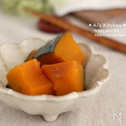 ほっといてできる簡単レシピ*煮崩れしないかぼちゃの甘煮*